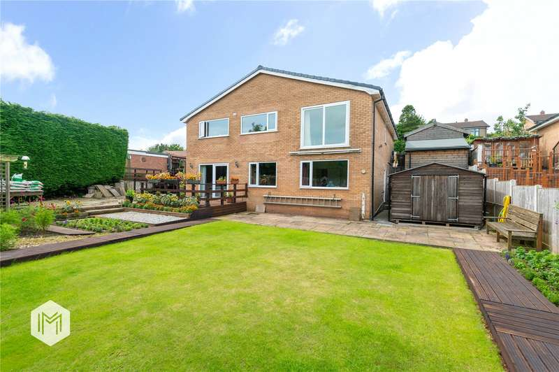 4 Bedrooms Detached House for sale in Melrose Way, Chorley, Lancashire, PR7