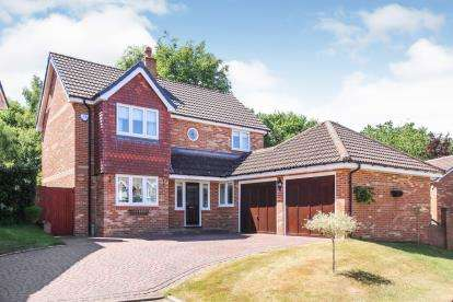 4 Bedrooms Detached House for sale in Ploughmans Way, Tytherington, Macclesfield, Uk