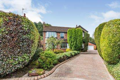 4 Bedrooms Detached House for sale in Dorrington Road, Sale, Cheshire, Greater Manchester