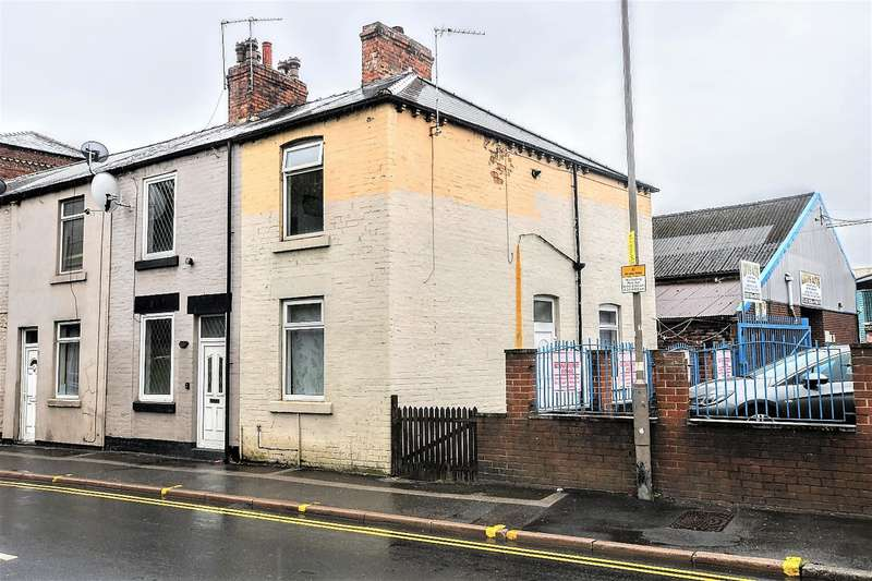 2 Bedrooms End Of Terrace House for sale in Summer Lane, Barnsley, S70 2NH