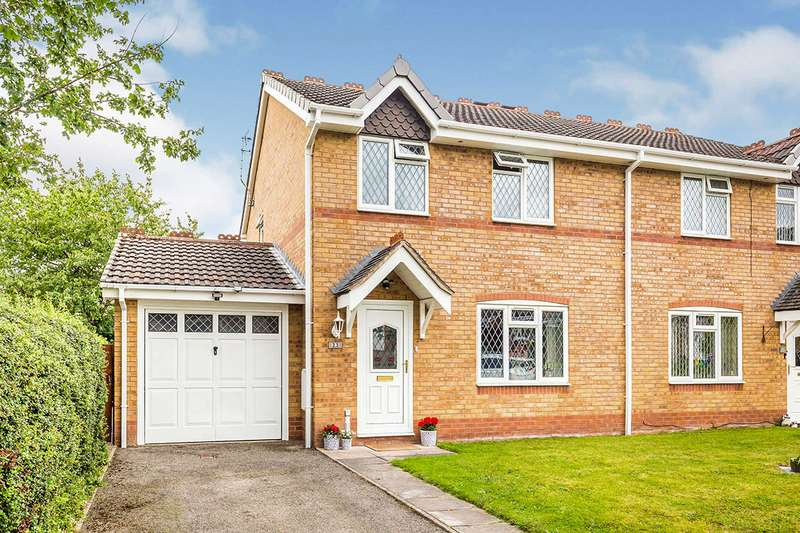 3 Bedrooms Semi Detached House for sale in Meadow Way, Gobowen, Oswestry, Shropshire, SY11