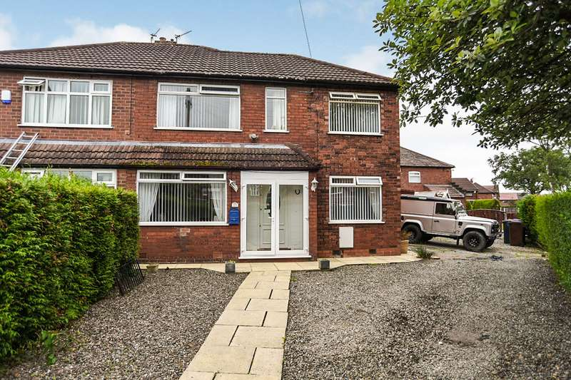 3 Bedrooms Semi Detached House for sale in Anson Road, Denton, Manchester, Greater Manchester, M34