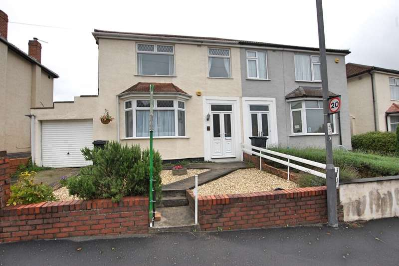3 Bedrooms Semi Detached House for sale in Whiteway Road, Bristol, BS5