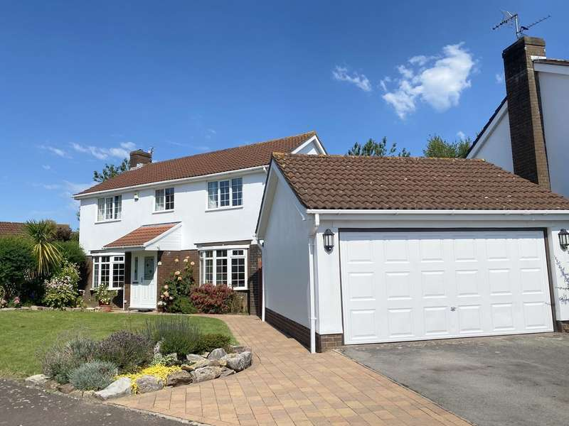 4 Bedrooms Detached House for sale in 31 Whitcliffe Drive, Penarth, CF64 5RY