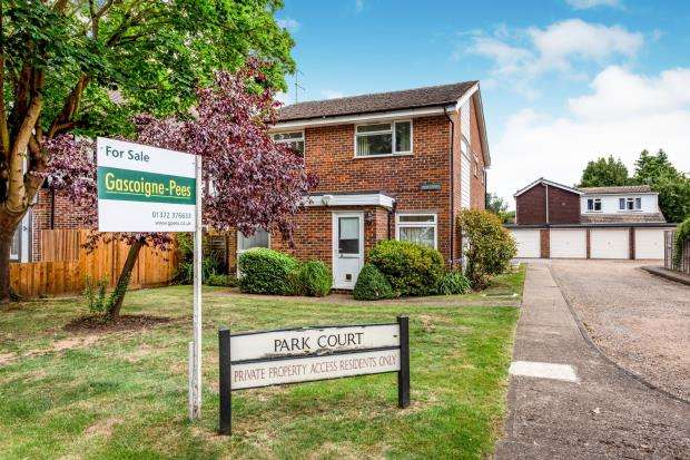 Flat for sale in Church Road, Bookham, Surrey
