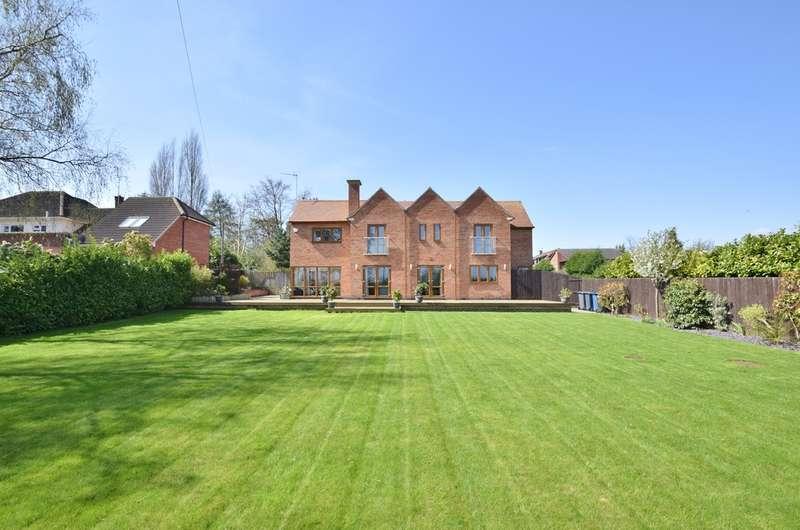 5 Bedrooms Detached House for sale in Sunnycrest, Highgrove Gardens, Edwalton, NG12 4DF
