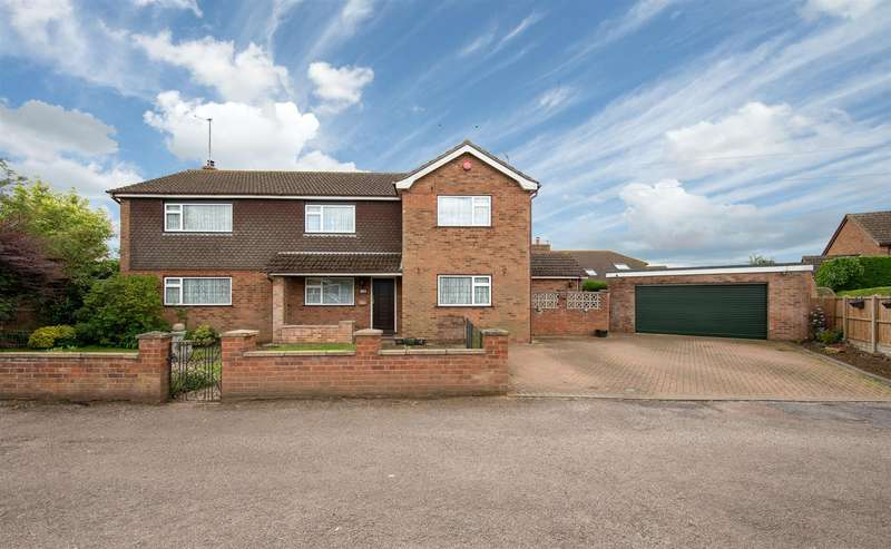 4 Bedrooms Detached House for sale in Stockdale, Toddington.