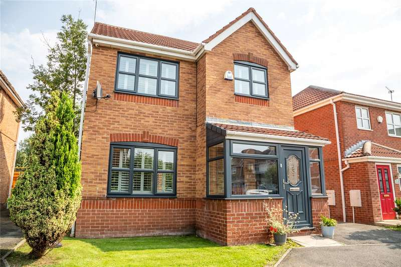 3 Bedrooms Detached House for sale in Blackdown Grove, Copthorne Park, Oldham, Lancashire, OL8