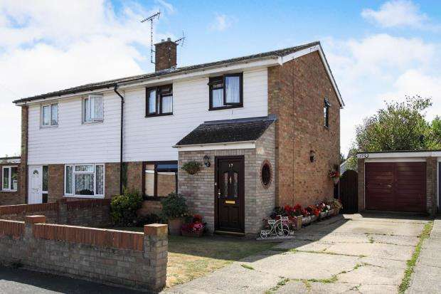 3 Bedrooms Semi Detached House for sale in Spurgeon Close, Sible Hedingham, Essex