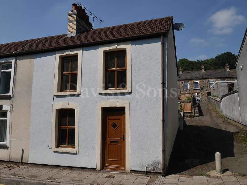 3 Bedrooms End Of Terrace House for sale in Railway Terrace, Abercarn, Newport. NP11