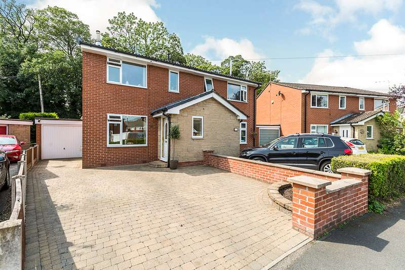 3 Bedrooms Semi Detached House for sale in Bannister Hall Drive, Higher Walton, Preston, PR5