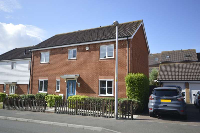 4 Bedrooms End Of Terrace House for sale in Rivenhall Way, Hoo, Rochester, Kent, ME3