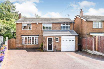 4 Bedrooms Detached House for sale in Lodge Court, Mottram, Hyde, Greater Manchester