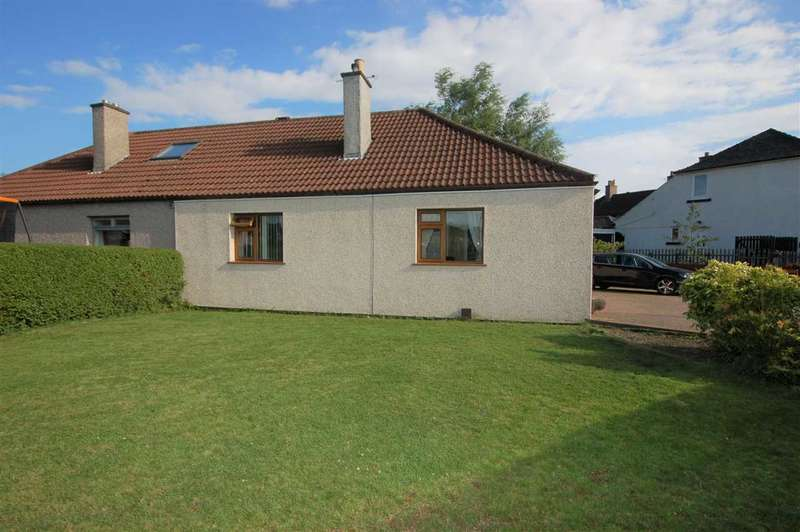 2 Bedrooms Semi Detached Bungalow for sale in Harley Street, Rosyth
