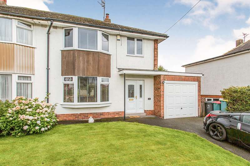 3 Bedrooms Semi Detached House for sale in Marina Drive, Fulwood, Preston, Lancashire, PR2