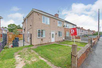 4 Bedrooms Semi Detached House for sale in Edward Road, Skellow, Doncaster