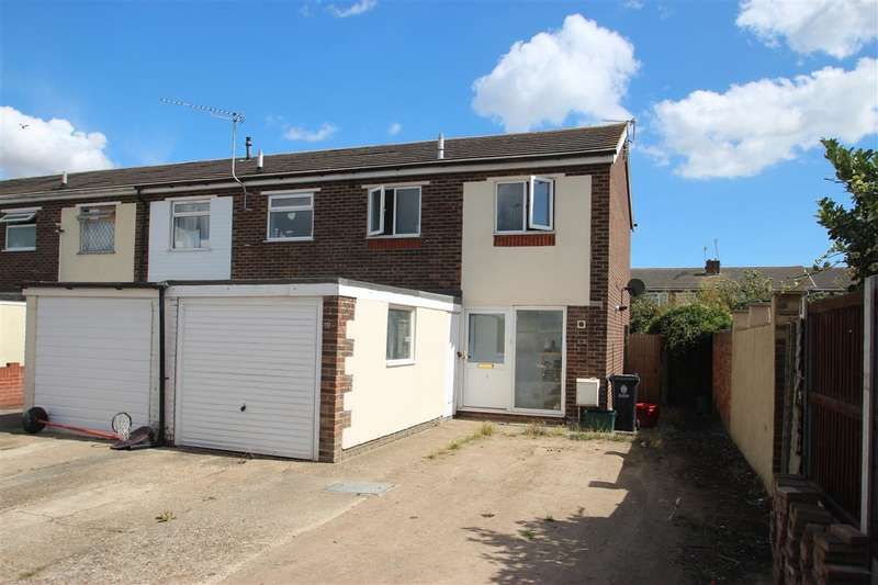 3 Bedrooms End Of Terrace House for sale in Almond Close, Clacton-on-Sea