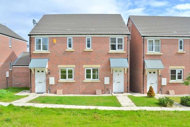 2 Bedrooms Semi Detached House for sale in John Street Way, Barnsley, South Yorkshire, S73 8FT