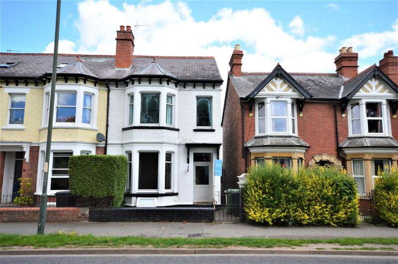 4 Bedrooms End Of Terrace House for sale in Kings Acre Road, Hereford