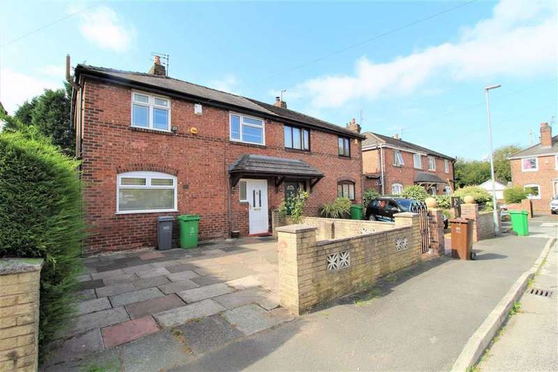 3 Bedrooms Semi Detached House for sale in Northbank Gardens, Manchester