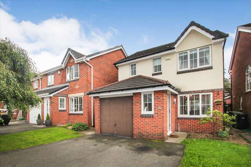 3 Bedrooms Detached House for sale in Farleigh Close, Westhoughton