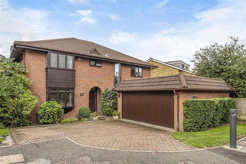5 Bedrooms Detached House for sale in Beaumont Place, Hadley Highstone, Hertfordshire