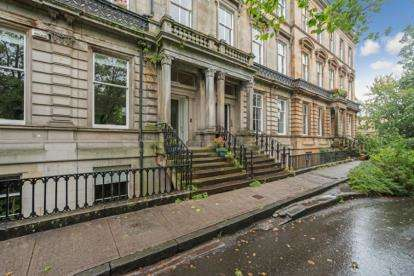 2 Bedrooms Flat for sale in Ruskin Terrace, Botanics
