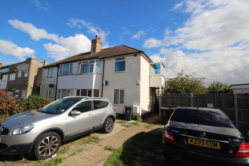 2 Bedrooms Maisonette Flat for sale in Burnham Crescent, Dartford, Kent, DA1