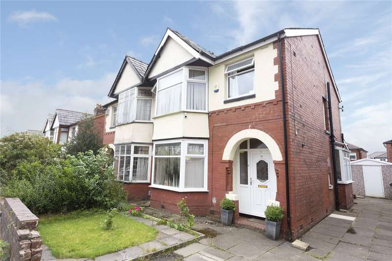 3 Bedrooms Semi Detached House for sale in Walker Avenue, Bolton, Greater Manchester, BL3