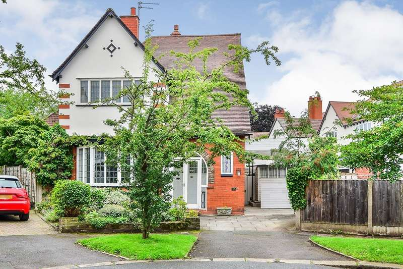 3 Bedrooms Detached House for sale in The Thorns, Manchester, Greater Manchester, M21