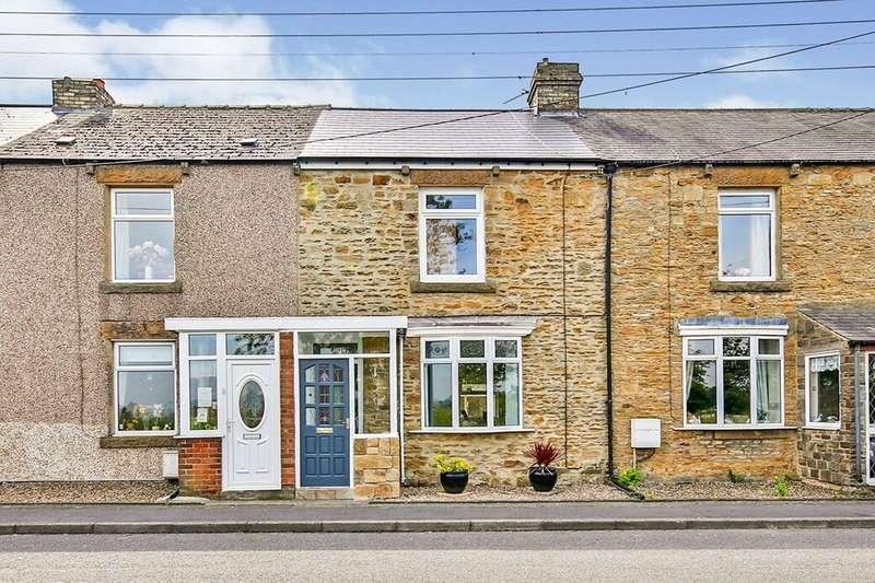 2 Bedrooms Terraced House for sale in Grange Terrace, Consett, DH8