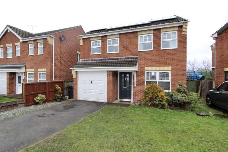 4 Bedrooms Detached House for sale in Cotterdale Gardens, Barnsley, South Yorkshire, S73