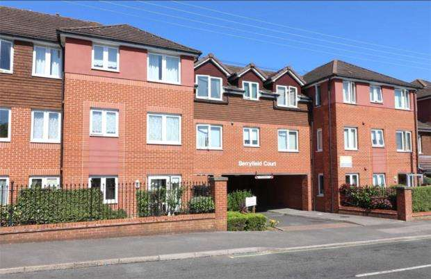 1 Bedroom Retirement Property for sale in Berryfield Court, 10 Bursledon Road, Southampton