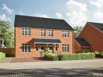 3 Bedrooms Semi Detached House for sale in Broadmeadow Park, Abby Road, Sandbach