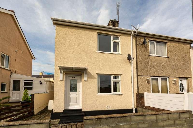 2 Bedrooms End Of Terrace House for sale in Maes Cadnant, Caernarfon, Gwynedd, LL55