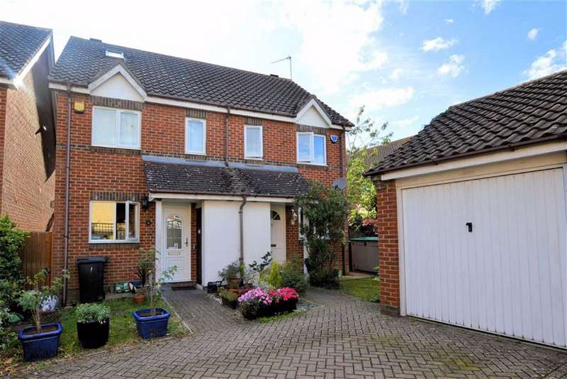 2 Bedrooms Semi Detached House for sale in Brookfield, Thornwood