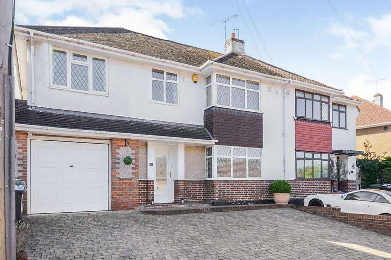 4 Bedrooms Semi Detached House for sale in Mountfield Road, Hemel Hempstead, Hertfordshire, HP2