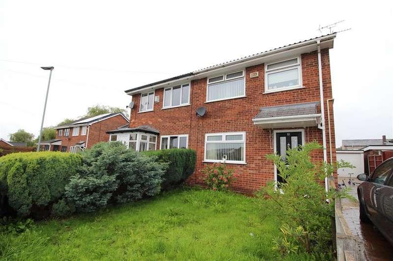 3 Bedrooms Semi Detached House for sale in Peel Street, Platt Bridge, Wigan