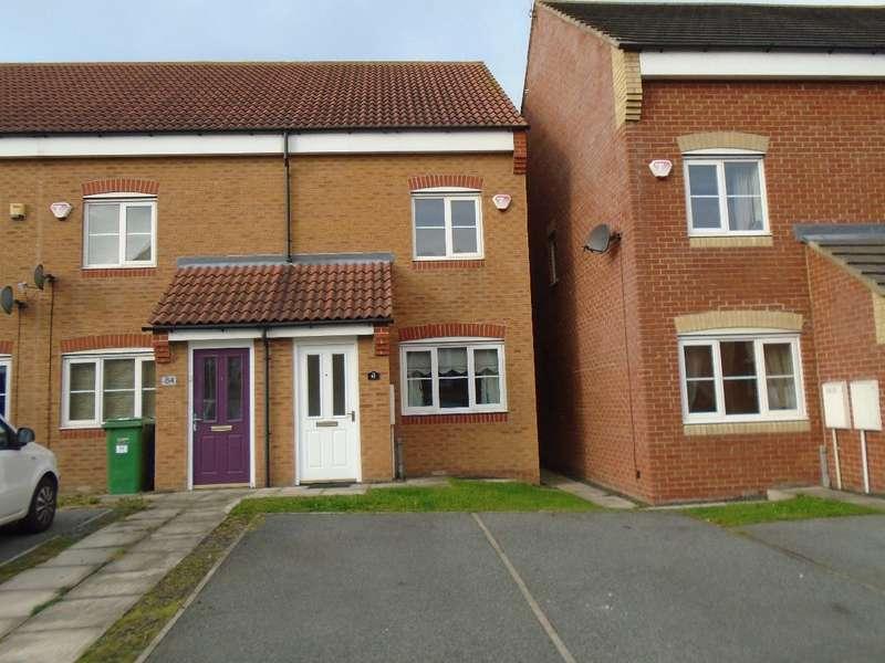 3 Bedrooms Semi Detached House for rent in Heatherlea, Bebside, Blyth, NE24 4DF