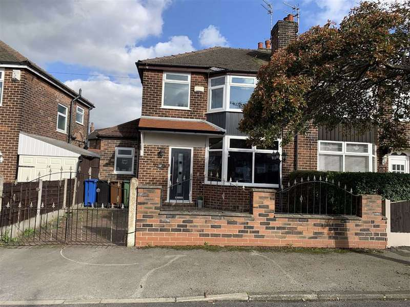 3 Bedrooms Semi Detached House for sale in Heswall Road, Reddish, Stockport