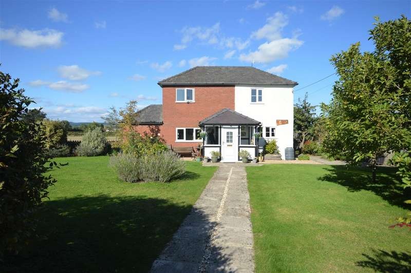 4 Bedrooms Detached House for sale in Shirlheath, Kingsland, Leominster