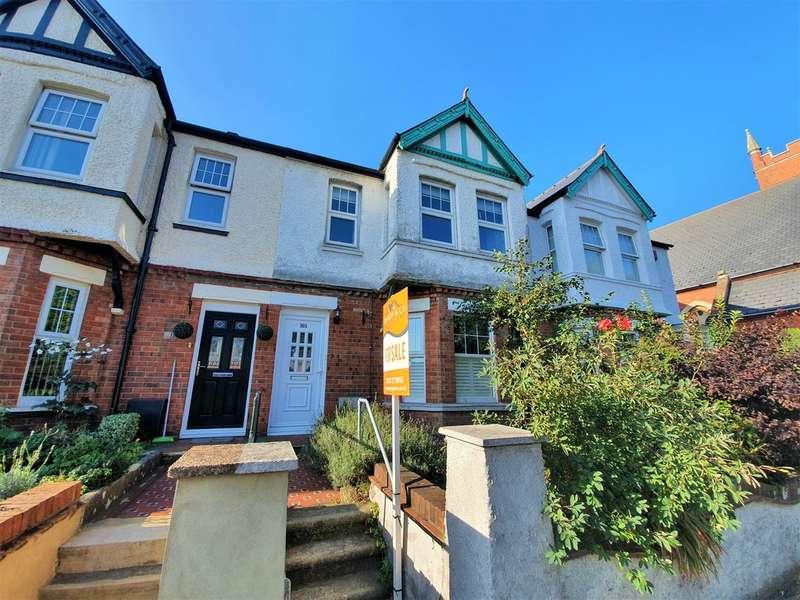 3 Bedrooms Terraced House for sale in Cheriton Road, Cheriton, Folkestone, Kent
