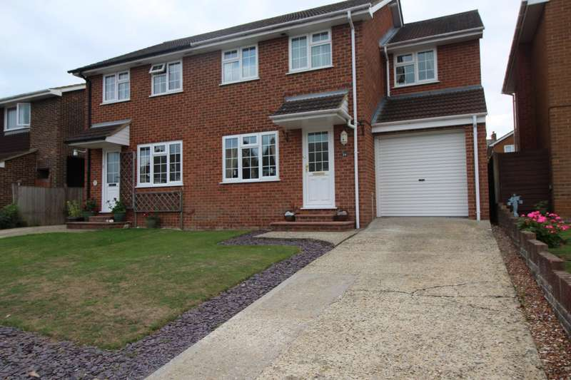 3 Bedrooms Semi Detached House for sale in Clifford Gardens, Deal, Kent, CT14