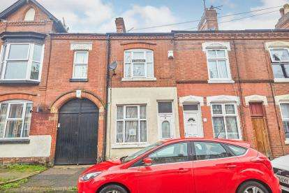 2 Bedrooms Terraced House for sale in Connaught Street, Leicester