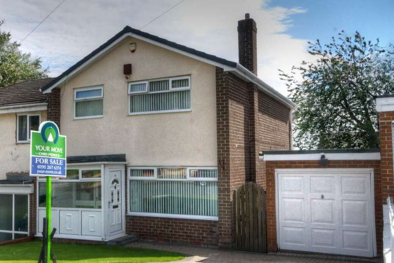 3 Bedrooms Semi Detached House for sale in Woodville Road, West Denton Hall, Newcastle Upon Tyne, NE15