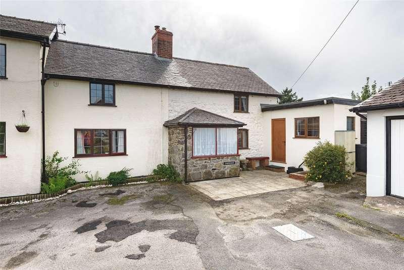 1 Bedroom Semi Detached House for sale in Trefeglwys, Caersws, Trefeglwys, Caersws, SY17 5QE