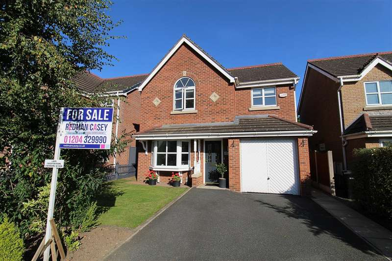 4 Bedrooms Detached House for sale in Angelbank, Horwich, Bolton