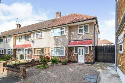3 Bedrooms End Of Terrace House for sale in Rainham, Essex, Uk