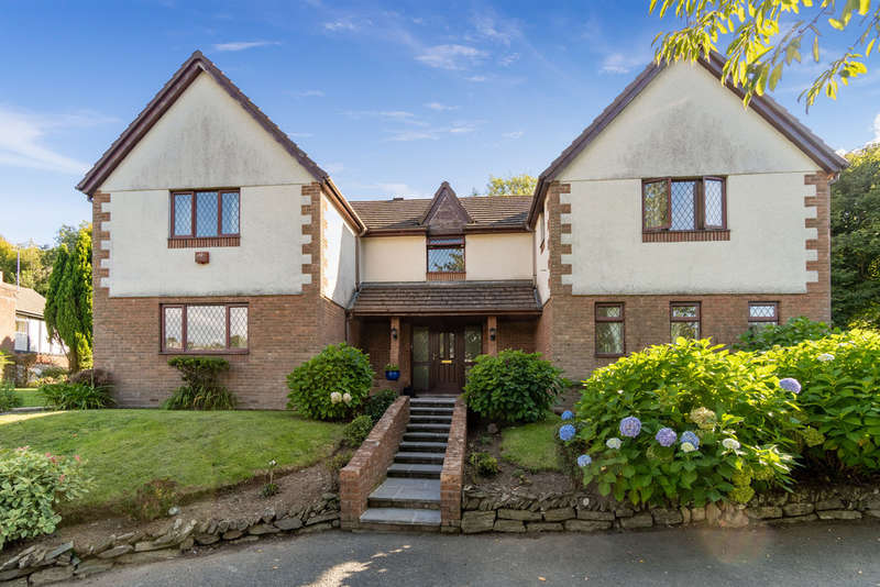 4 Bedrooms Detached House for sale in Riverside House, Riverside Walk, Tamerton Foliot, Plymouth, Devon, PL5 4AQ