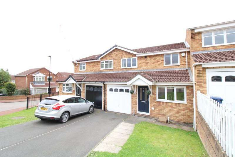 3 Bedrooms Terraced House for sale in Ordley Close, Dumpling Hall, Newcastle Upon Tyne